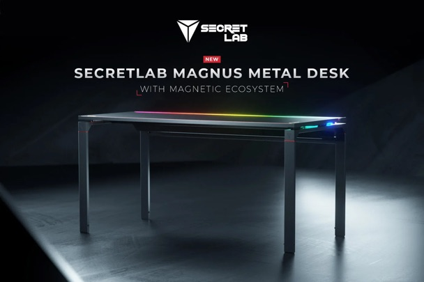 Secretlab's Magnus Metal Desk